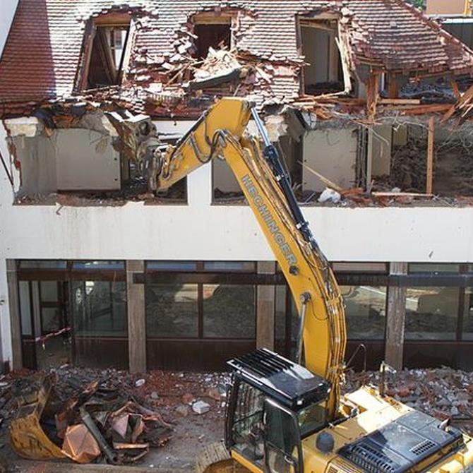 Riesgos y medidas preventivas en demoliciones