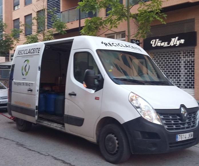 Recogida de aceites usados Valencia, Recogida aceite usado cocinas Valencia, Recogida de aceite usado vegetal Valencia, Reciclaje de aceite usado de cocinas en Valencia