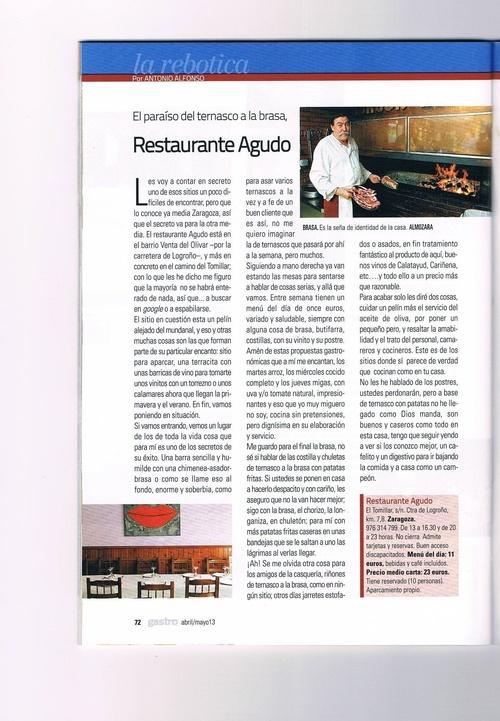 I Gastro Aragón