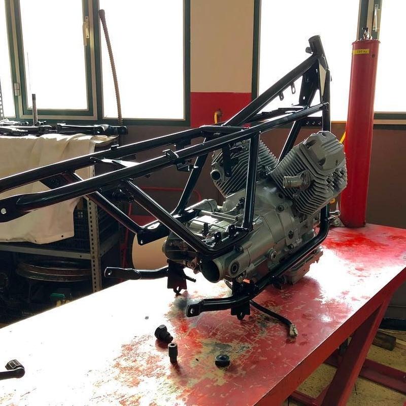 Restauración: Servicios taller de Motos Casals