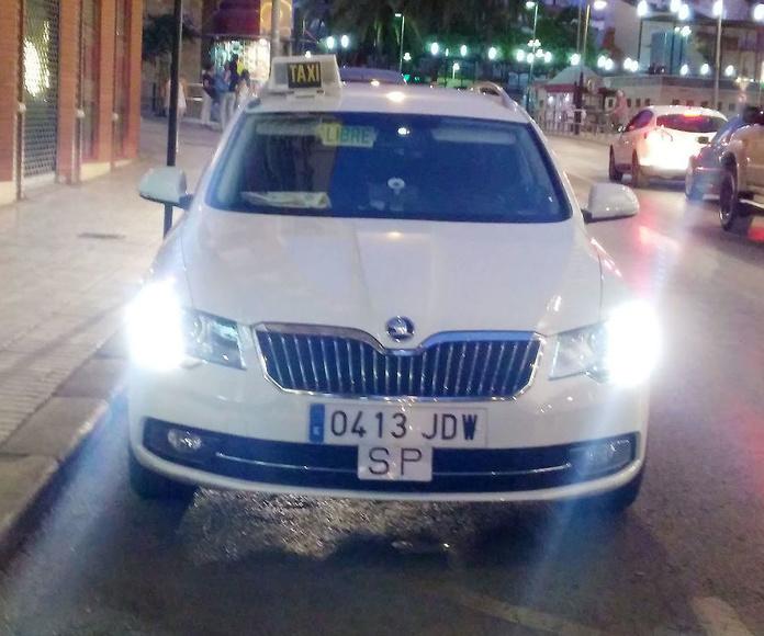 Servicios para empresas: Servicios de Taxi Camacho Linares