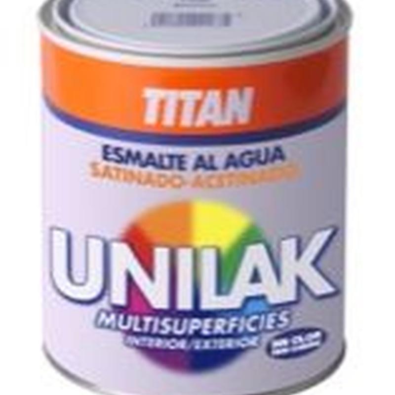 Unilak Esmalte Laca Universal Satinado y Mate: Nuestros productos de Moquetes Terrassa