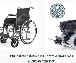 OFERTA MOVILIDAD PACK 1406SR RAMBLA R600  + 1752CM POWER PACK