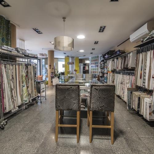 Tienda de tejidos para decoración en Tudela