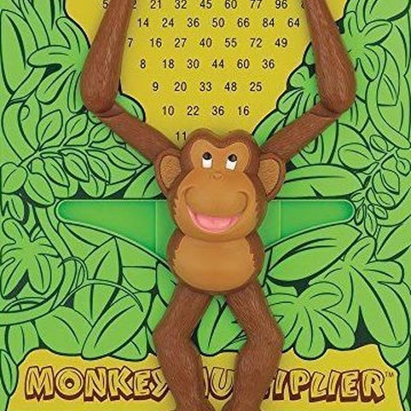 Aprende a multiplicar con el mono multiplicador  755828502013