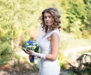 Cabello suelto para novias la última moda