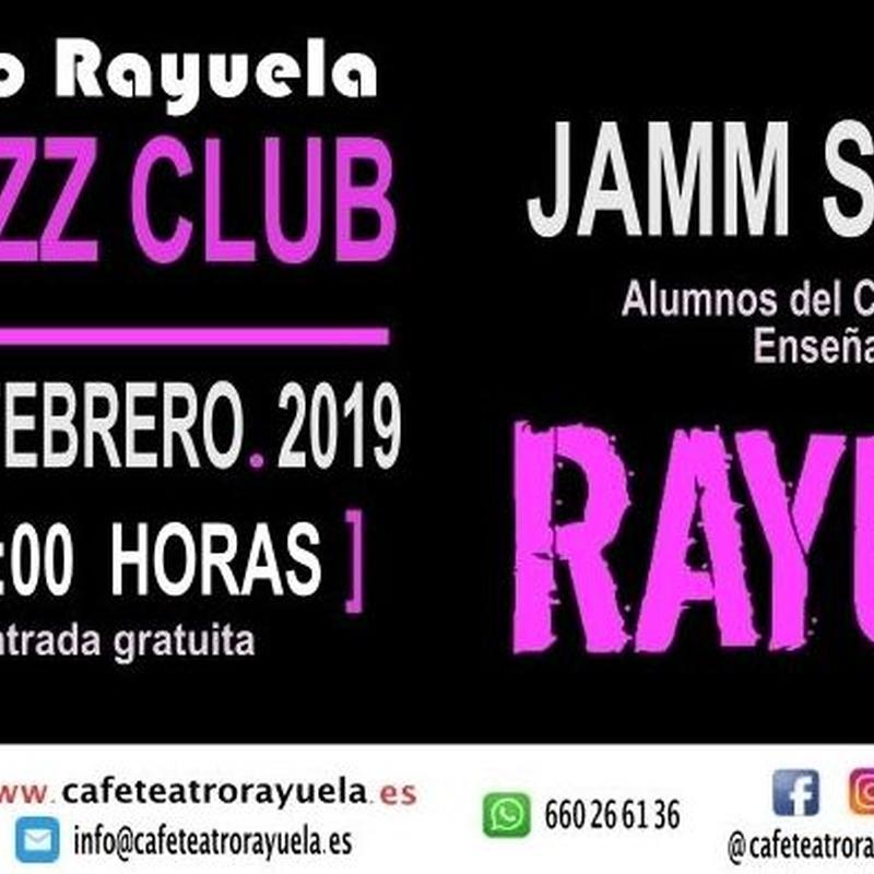 ALUMNOS DE RAYUELA: Programación de Café Teatro Rayuela