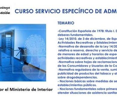 CURSO CONTROLADOR DE ACCESO COMUNIDAD VALENCIANA