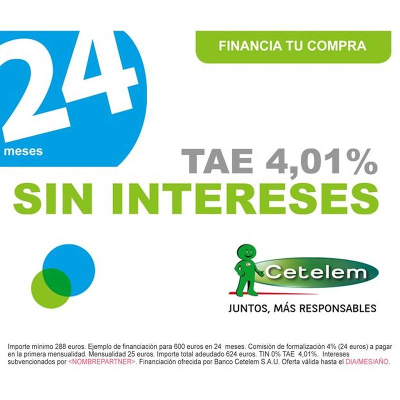 Financiacion 24 Meses: Servicios de Puertas García Flores