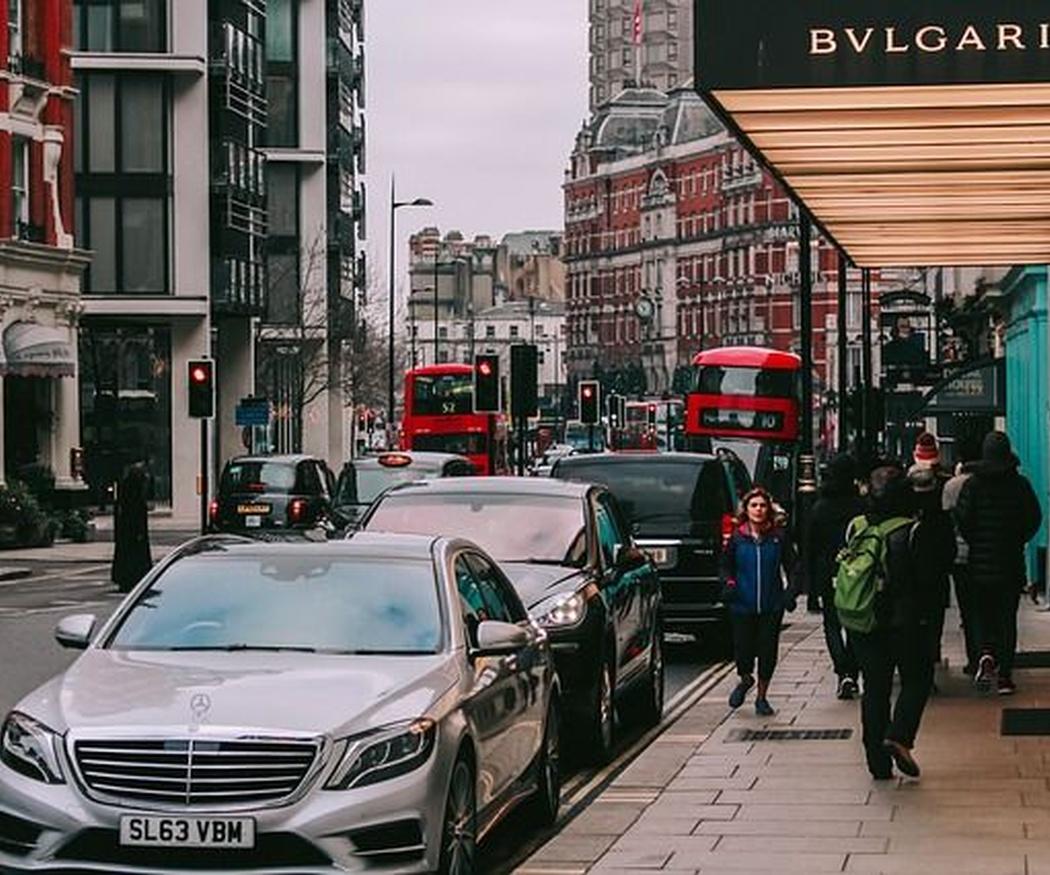 Conducir en Londres con carnet de España