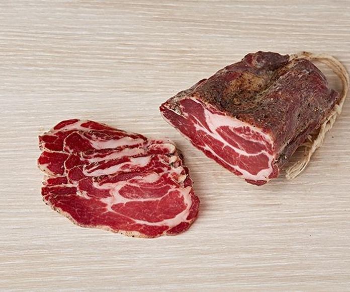 Productos en venta: Servicios de Carnes y Embutidos El Monasterio, S. L.