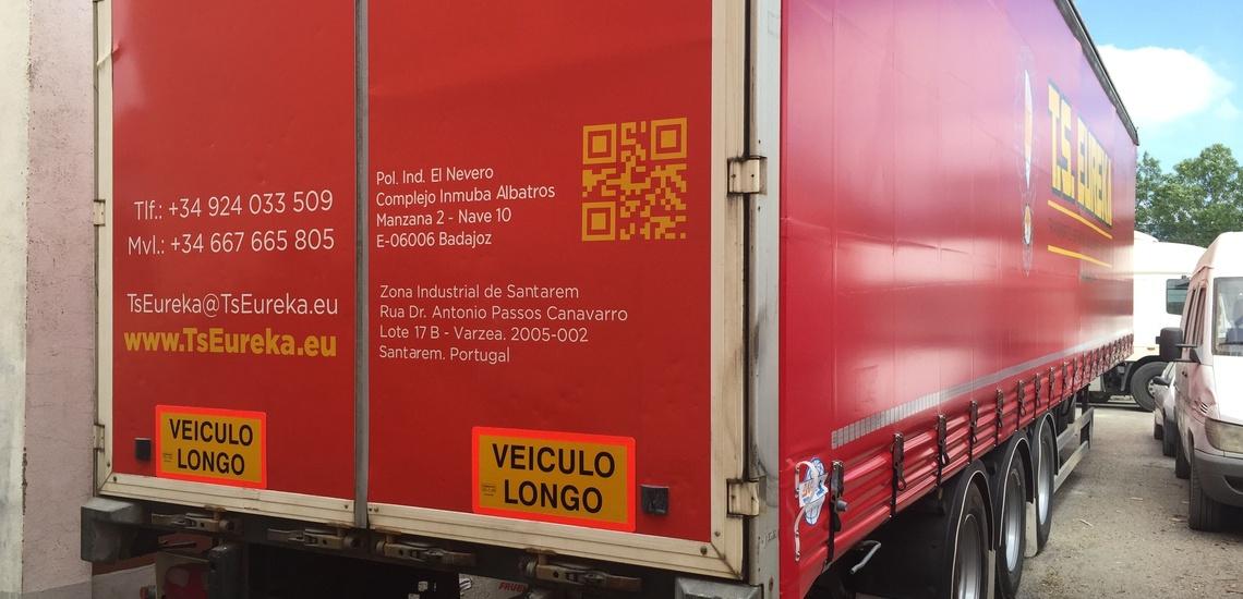Transportes de mercancías por carretera en Badajoz con vehículos de altas prestaciones