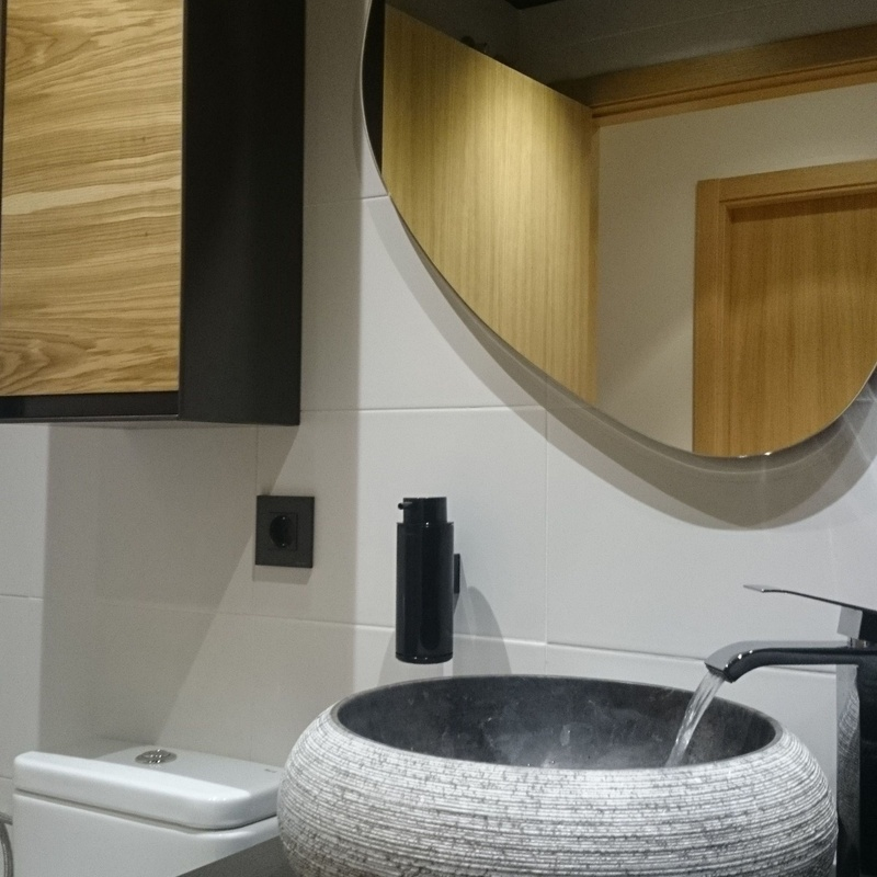 Mueble de baño lavabo piedra
