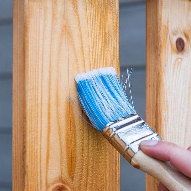 Escoge el barniz adecuado para tus muebles