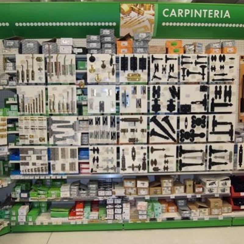 Herrajes de carpintería: Productos de Ferretería Baudilio