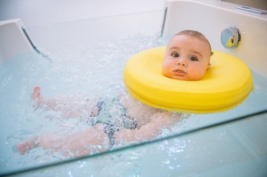 Primer spa para bebes