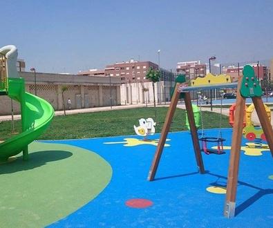 Suelos para parques infantiles ayuntamientos