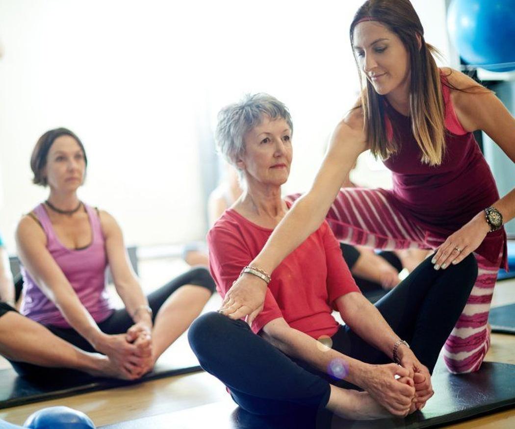 Beneficios del yoga en la tercera edad