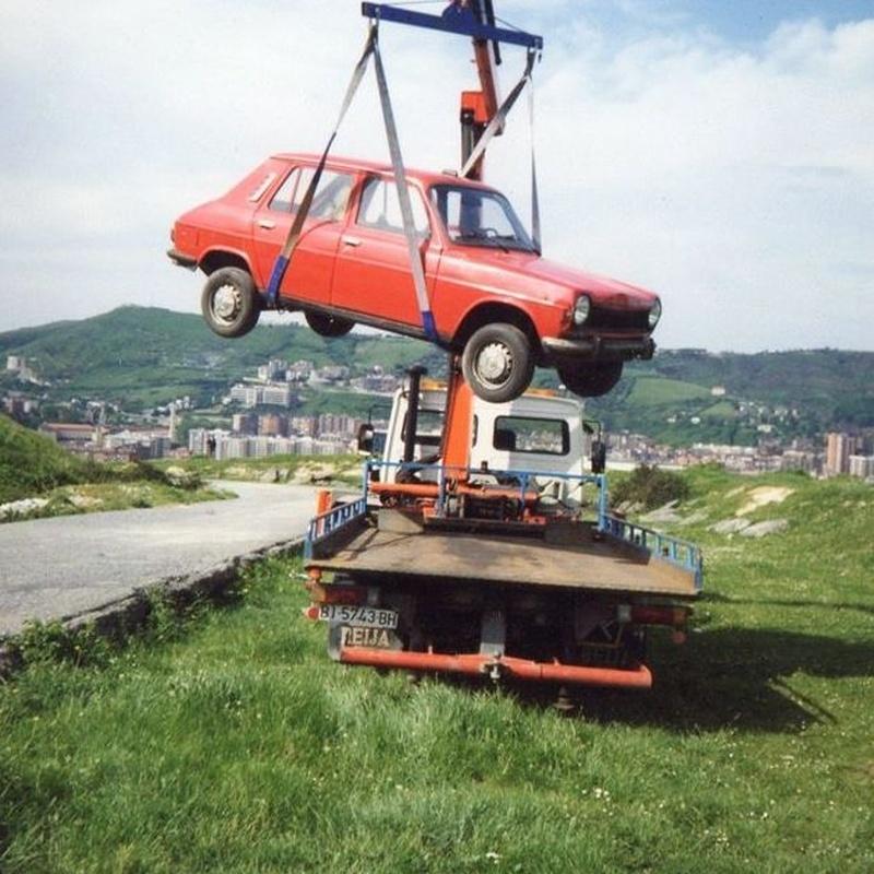 Rescate para asistencia en carretera