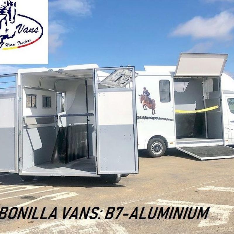 remolque para caballos B7-Aluminium