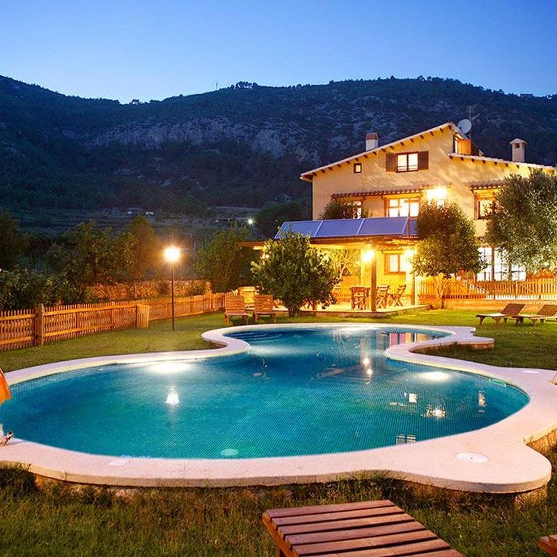 Exteriores: Casa rural de La Ginesta Rural