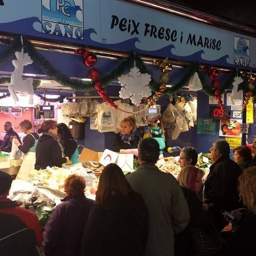 Estamos en el Mercado San Ildefonso, Barcelona