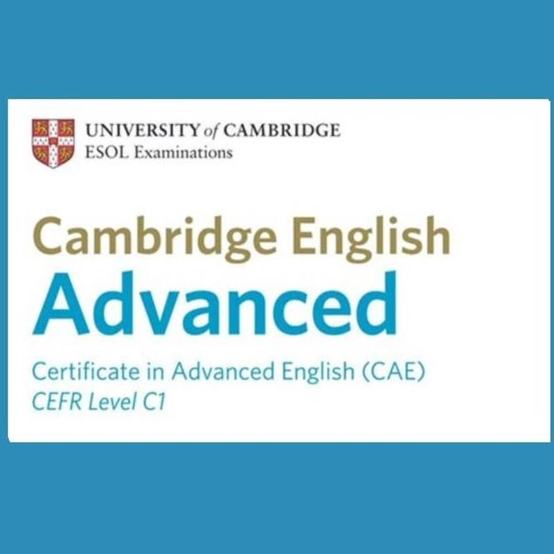 ENGLISH FOR CAE EXAM.                                    CAMBRIDGE NIVEL C1: Cursos de Oxford School of English - Tembleque