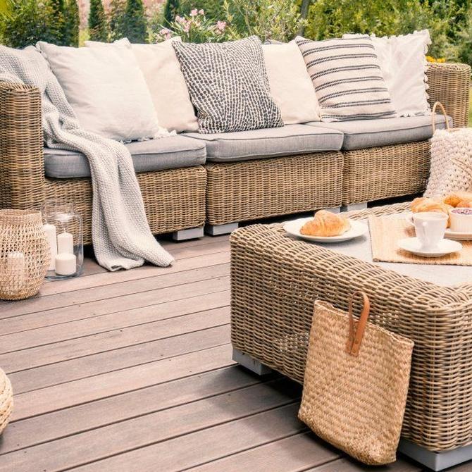 Consejos para cuidar el mobiliario de nuestra terraza