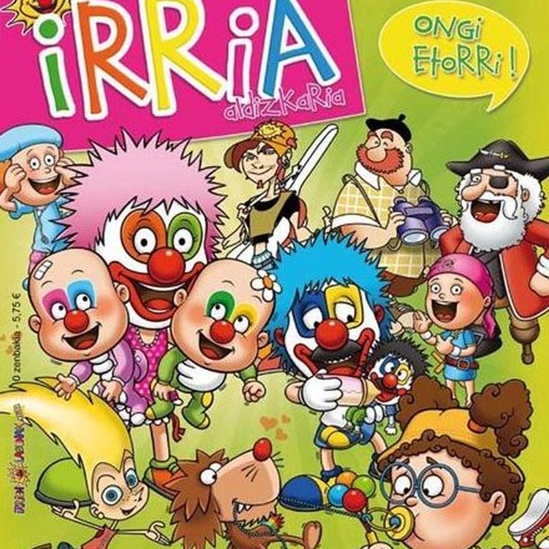 IRRIA ALDIZKARIA 41. Zka 2015eko URTARRILA