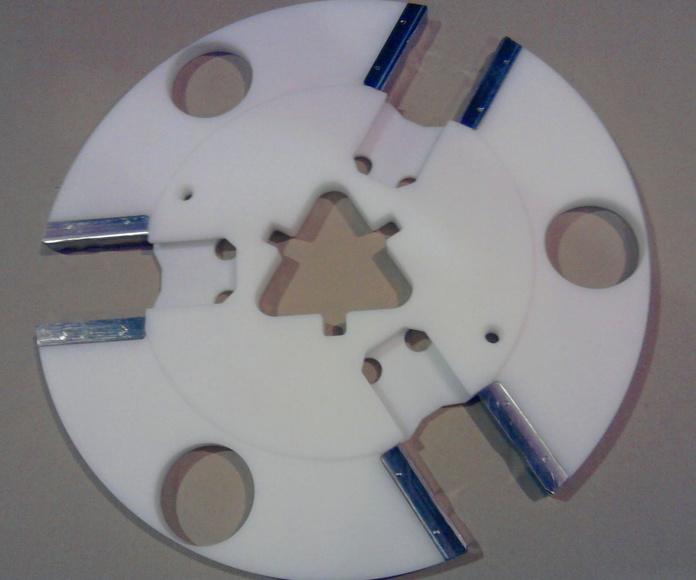 Fabricación piezas: Mecanizados y Maquinaria de Talleres Fontao