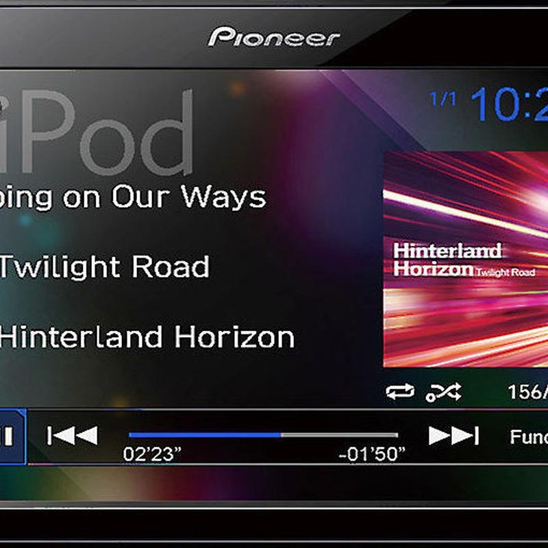 "Radio doble din Pioneer pantalla táctil 6,2"" USB y BLUETOOTH"