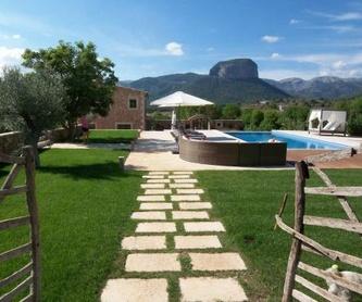 Reforma de vivienda unifamilar con piscina en Alaró: Obras realizadas de Construcciones Ses Planes  d'Alaró