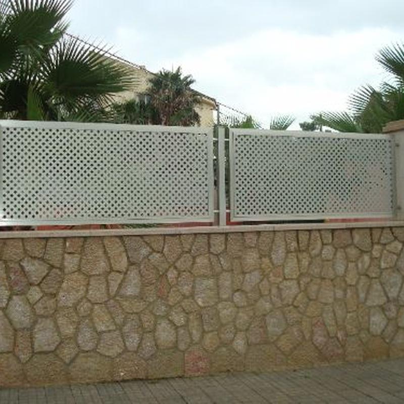 Aluminio y PVC: Productos y servicios de Jaume Font Fustería Metálica