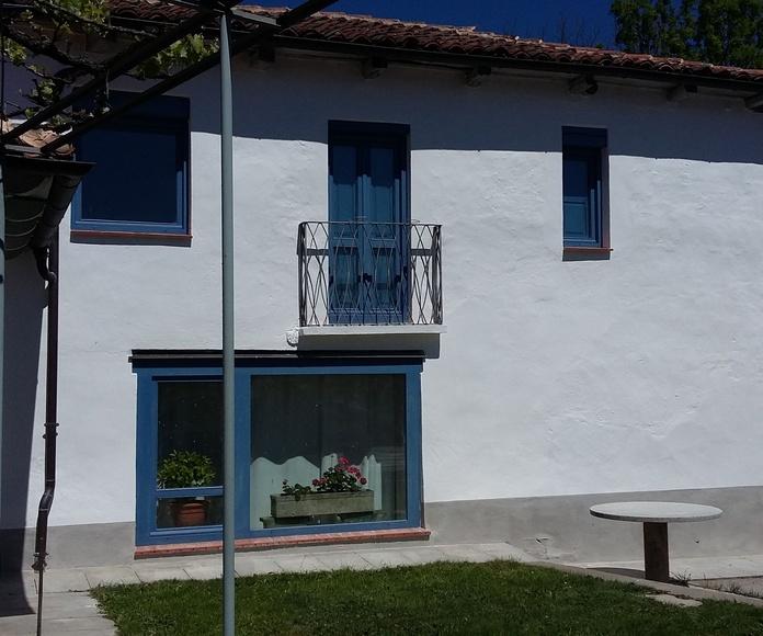 Fachada vivienda después de nuestros servicios de pintura