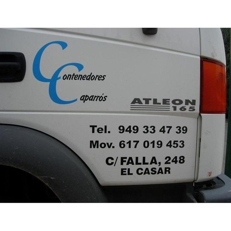 Otros alquileres: Productos y servicios de Contenedores Caparrós