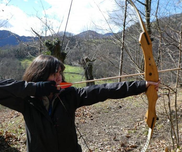 Tiro con arco: Actividades de El Trasgu La Fronda