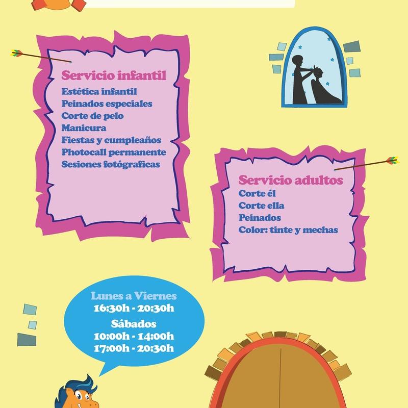 CORTE DE PELO PARA NIÑOS DE 0-16 AÑOS: NUESTROS SERVICIOS de AL TROTE ZONA INFANTIL