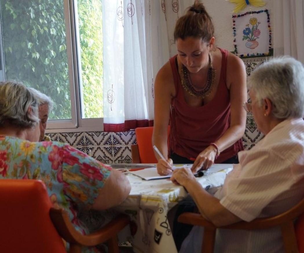 Las actividades y talleres, claves en el día a día de los ancianos