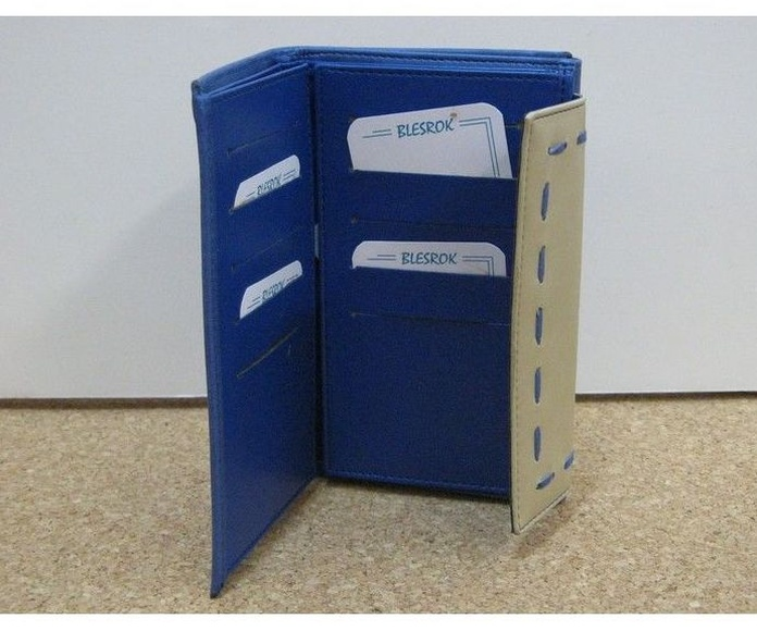 Monedero de polipiel azul: Productos de Zapatería Ideal Alcobendas