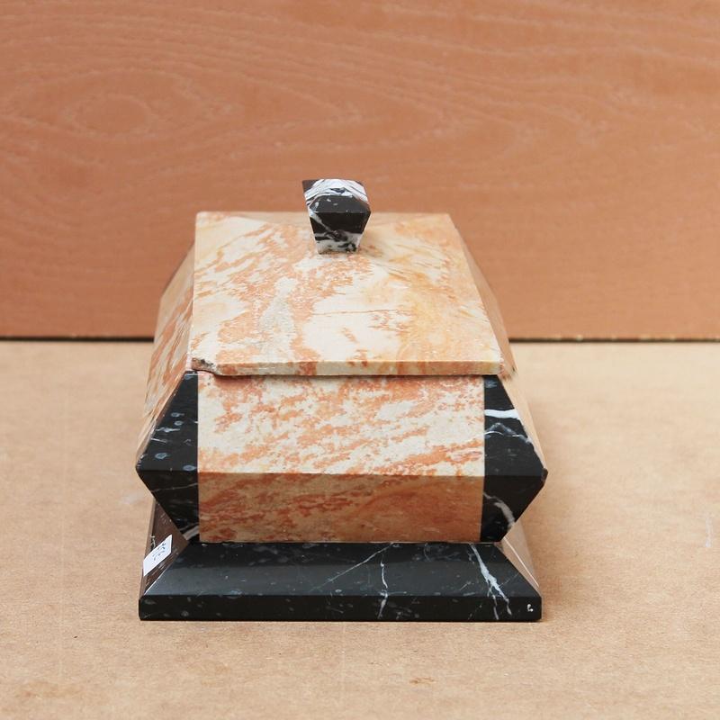 Caja Art-Deco de marmol: Artículos  de Ruzafa Vintage