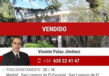 Apartamento en Urbanización Monte Escorial, El Escorial