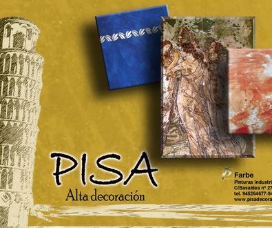Pisa linea de Alta Decoracion de Farbe