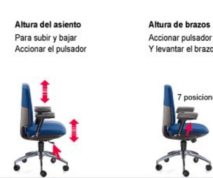 Sistema de movilidad Silla de Oficina IDONIA 100/110 Contact