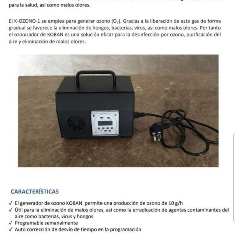 Articulos de proteción contra el COVID 19: Servicios de Jsp Electrotecnia, S.L.