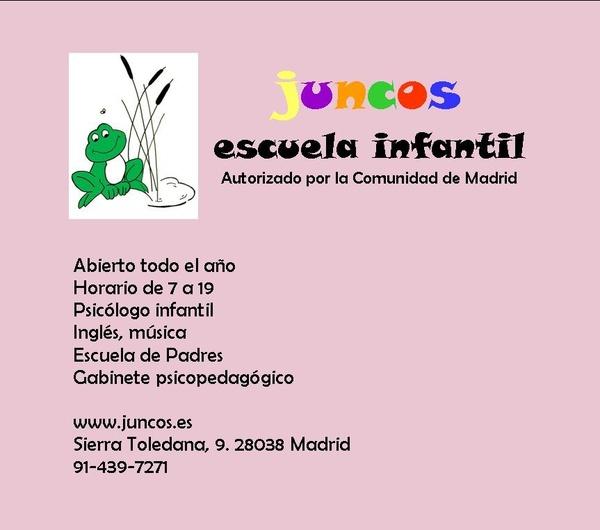 Escuela infantil en Vallecas | Los Juncos
