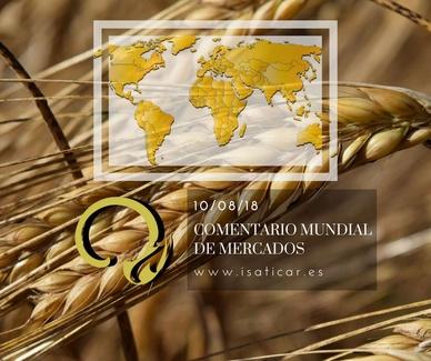 Informe internacional de mercados 10.08.18