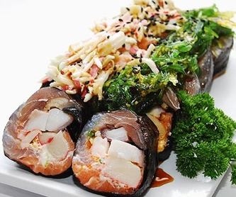 Platos calientes: Carta de Fujiyama Sushi Bar & Asian Cuisine