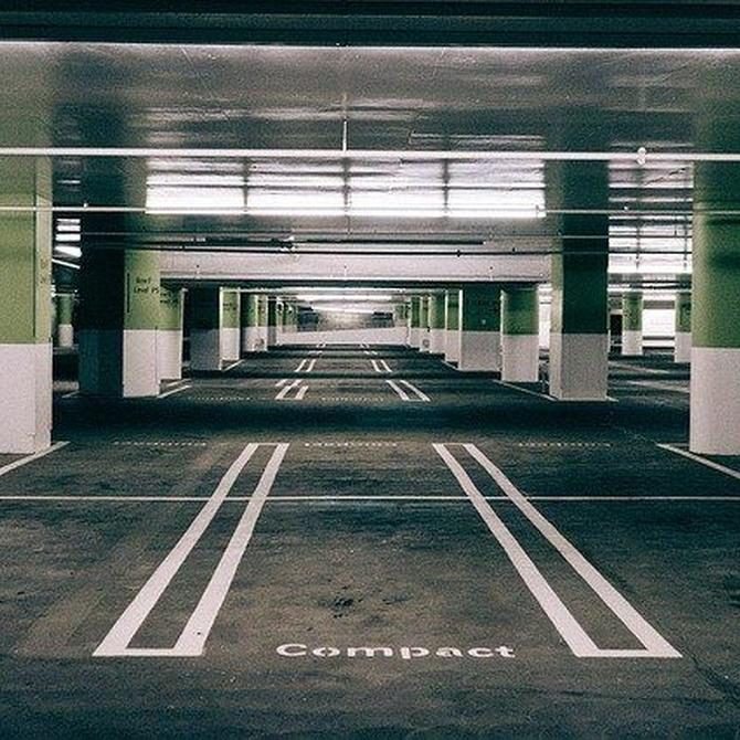 Evita el agua en tu aparcamiento