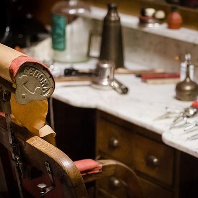 Barberías al estilo vintage