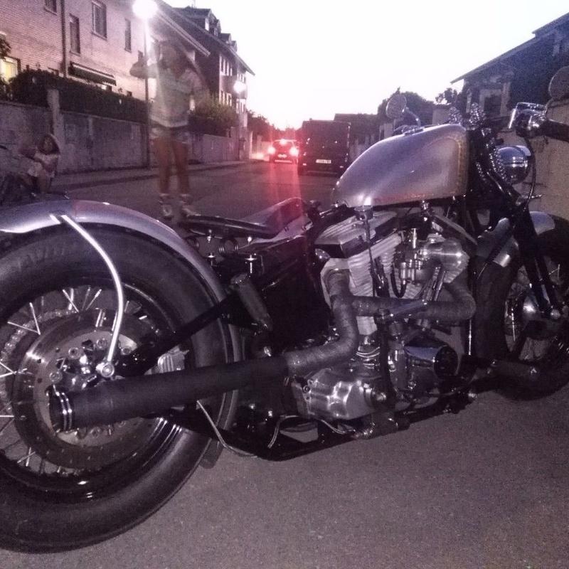 break skull choppers, harley davidson, bobber, construccion motos, transformacion harley davidson, personalizacion motos